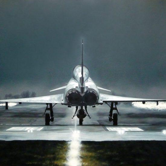 En la pista | 130 x 195 cm | Oil on canvas | 2009